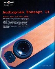Audioplan Konzept II