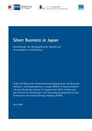 Silver Business in Japan: Auswirkungen des demographischen ... - DIJ