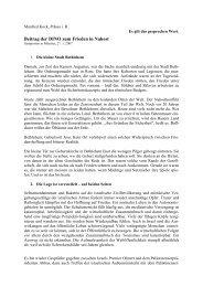 Impulsreferat Manfred Kock, 1. Symposion 27. Januar 2007 (PDF)
