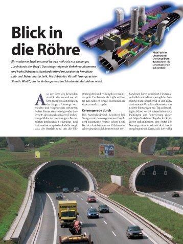 Technik im Engelbergbasistunnel - Ditzingen