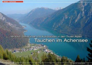 Tauchen im Achensee - DiveInside