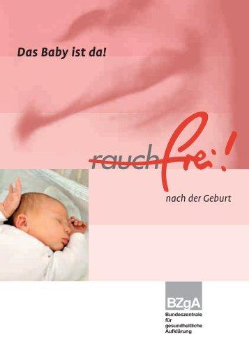 Rauchfrei nach der Geburt