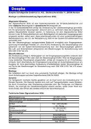 Bedienungsanleitung SISU Signalumsetzer - Doepke