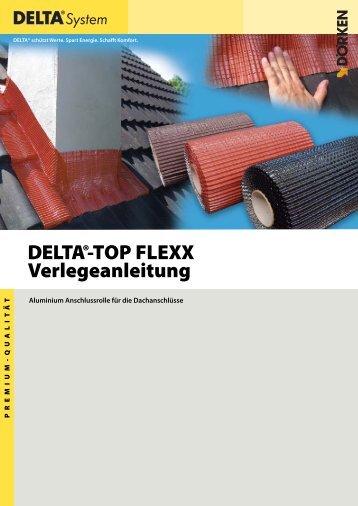 Verlegeanleitung DELTA-TOP FLEXX