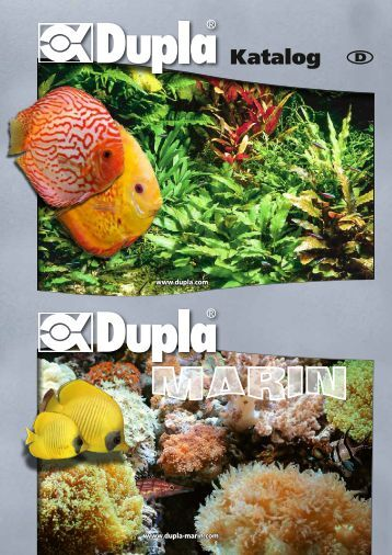 Dupla magazine for Aquaristik katalog