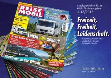 Print-Anzeigen - DoldeMedien Verlag GmbH