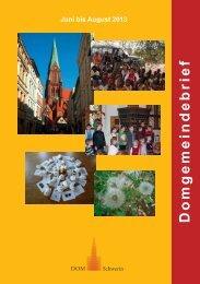 Gemeindebrief 2-2013 - Schweriner Dom