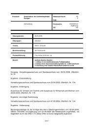 Verwaltungsausschuss und Sportausschuss vom 09.04 ... - Stuttgart