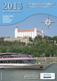 Fahrplan Donau Touristik