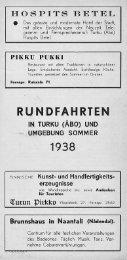 RUNDFAHRTEN - Doria