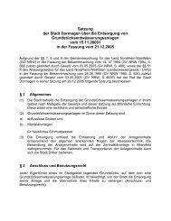 Satzung der Stadt Dormagen über die Entsorgung von ...