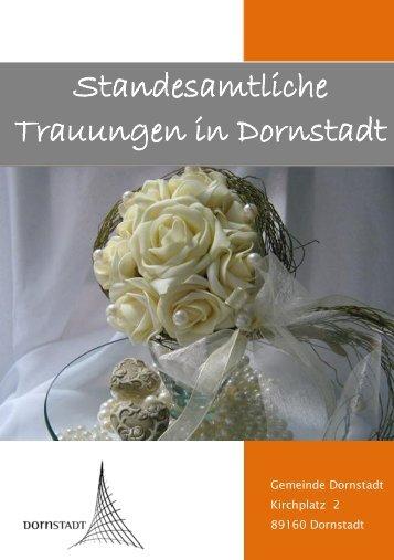 Zur Heiratsbroschüre - Dornstadt