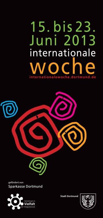 15. bis 23. Juni 2013 - Stadt Dortmund