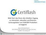 Mit Certiflash - FGK
