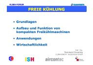 FREIE KÜHLUNG - Fachverband Gebäude-Klima e. V.