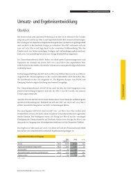 Umsatz- und Ergebnisentwicklung - Deutsche Post DHL