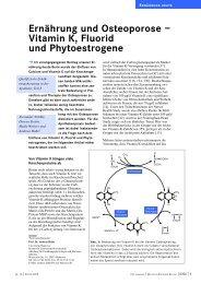 Ernährung und Osteoporose - Dr. Kurt A. Moosburger