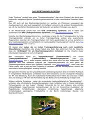 Das Übertrainingssyndrom - Dr. Kurt A. Moosburger
