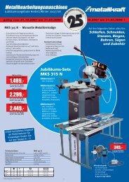 Metallbearbeitungsmaschinen