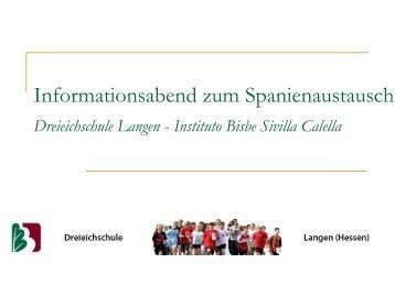 Instituto Bisbe Sivilla Calella - Dreieichschule
