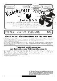 Nr. 12/2 Monat Dezember 1993 - Dresdner Land
