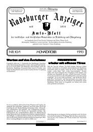 Nr. 10/1 Monat Oktober 1993 - Dresdner Land