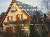 Energiebewusst Bauen und Umweltenergie nutzen - Wohnen im ...
