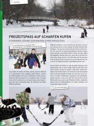 FREIZEITSPASS AUF SCHARFEN KUFEN - Drewag