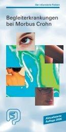 Begleiterkrankungen bei Morbus Crohn - Dr. Falk Pharma GmbH