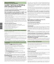 Gebrauchsinformation Laxofalk - Dr. Falk Pharma GmbH