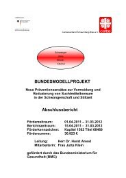 Abschlussbericht Caritasverband Region Schaumburg-Blies - Die ...