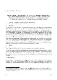 Leitlinien für die Umsetzung von Artikel 9 und 10 des WHO