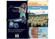 Trainer-Fortbildung 2009 - Deutscher Schützenbund eV