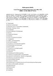 Waffengesetz (WaffG) In der Fassung der Bekanntmachung vom 8 ...
