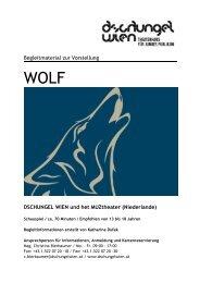 WOLF - Dschungel Wien