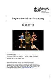 Begleitmaterial Diktator - Dschungel Wien