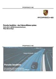 Porsche InnoDrive – Das Fahrereffizienzsystem - dSPACE