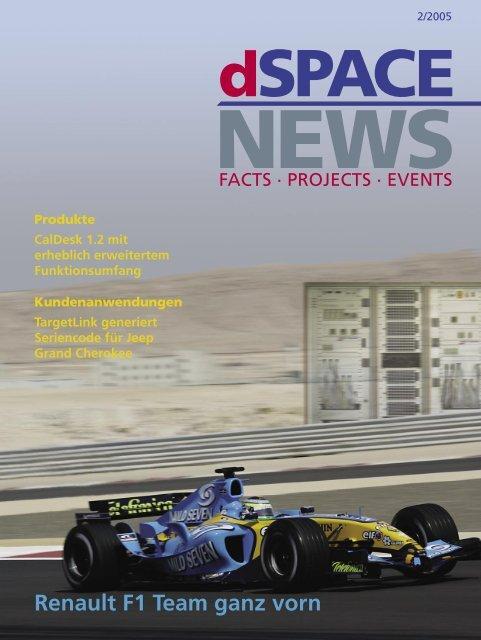 Renault F1 Team ganz vorn - dSPACE