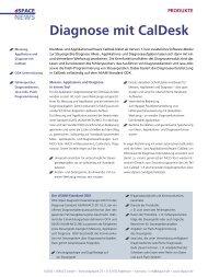 Diagnose mit CalDesk - dSPACE