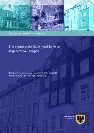 Energiesparendes Bauen und Sanieren ... - Stadt Dortmund