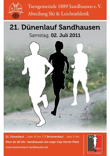 21. Dünenlauf Sandhausen - Informationsportal zum Duenenlauf ...