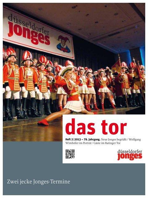 Zwei jecke Jonges-Termine - Heimatverein Düsseldorfer Jonges