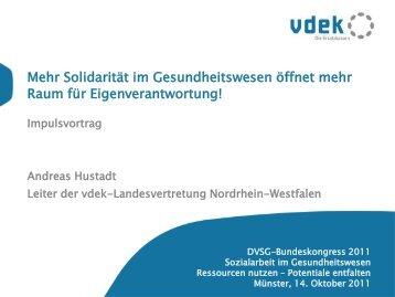 PQS Hilfsmittel und Einzelfallprüfung des vdek - DVSG