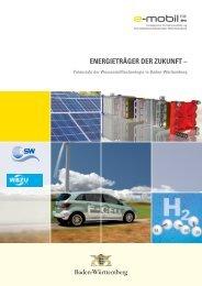 Potenziale der Wasserstofftechnologie in Baden ... - e-mobil BW