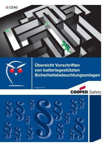 Übersicht Vorschriften von batteriegestützten ...