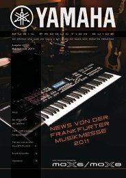 NEWS vON DER FRANKFURTER MUSIKMESSE 2011