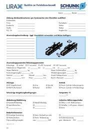 Checkliste zur Portalachsen-Auswahl - BIBUS SK, sro