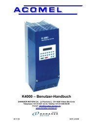 K4000 – Benutzer-Handbuch - BIBUS SK, sro