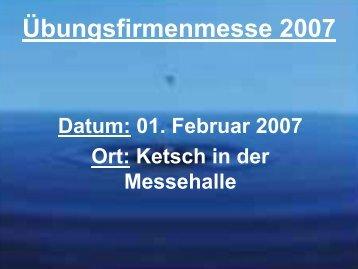 Besuch der regionalen Uefamesse in Ketsch 2007 - EBS Karlsruhe