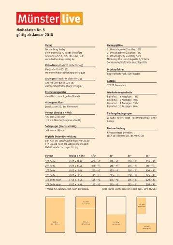 Mediadaten ML 5 - Tecklenborg Verlag